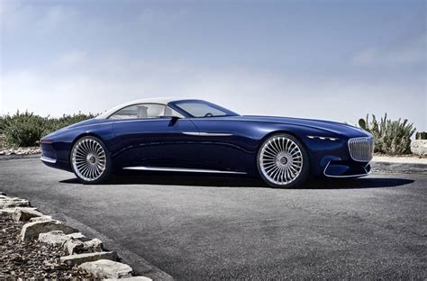 A Maybach by Vision Mercedes Maybach 6 Cabriolet Is One Stunning Drop