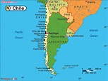 Chile Map and Chile Satellite Images