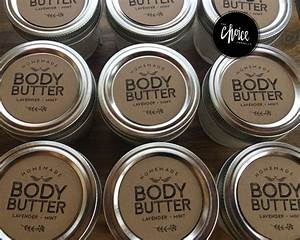 free download friday homemade body butter printable labels With body butter labels