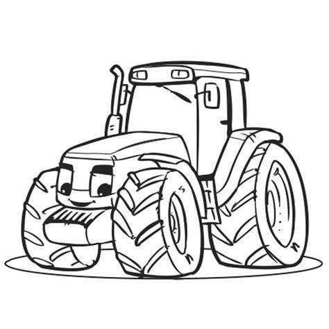 coloriage gros tracteur en ligne gratuit  imprimer