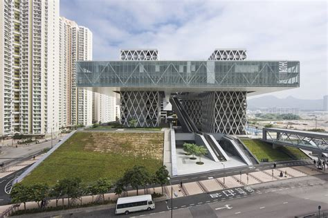 institute of design and construction hong kong institute of design caau archdaily
