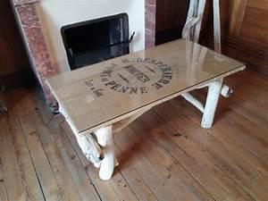 Table Basse En Bois Flotté : table basse en bois flott meubles d coratifs en bois flott bois du lot ~ Teatrodelosmanantiales.com Idées de Décoration