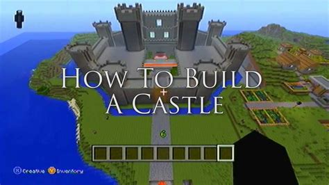 minecraft ideas   build  castle youtube
