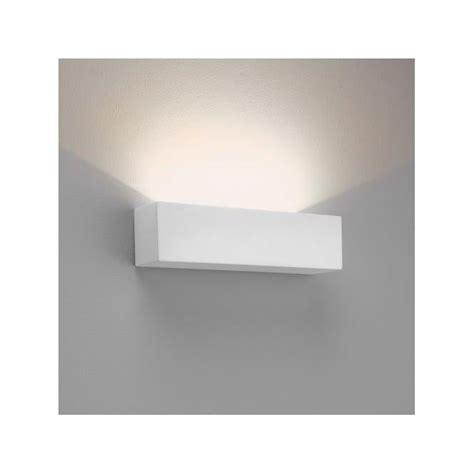 astro parma wall light astro 7599 parma 250 led wall light white plaster