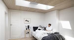 Bett Unterm Fenster : dachausbau ideen f r schlafzimmer velux dachfenster ~ Frokenaadalensverden.com Haus und Dekorationen