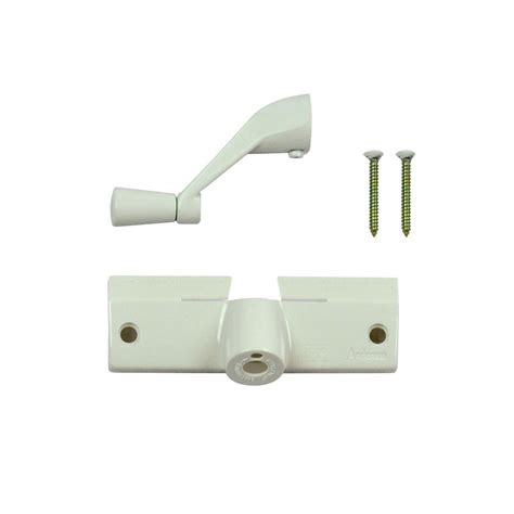 andersen white operator cover  handle   home depot