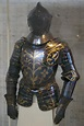 Black and gold tournament armour of Christian I, elector ...