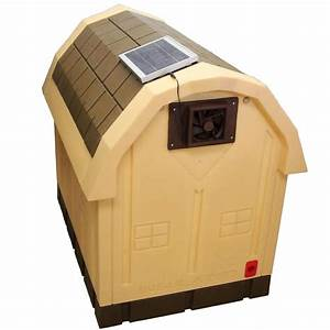 dog house solar powered exhaust fan 95quot x 65quot ebay With solar powered dog house