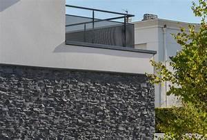 Pierre Facade Exterieur : du charme pour une maison contemporaine avec stonepanel ~ Dallasstarsshop.com Idées de Décoration
