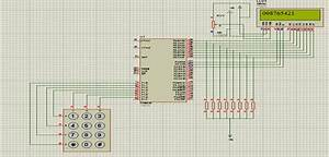 4 U00d73 Matrix Keypad Interfacing With 8051 Microcontroller