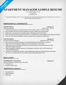 residential property manager resume search results for resume exle page 2 calendar 2015