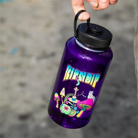 Psychedelic Water Bottle (Purple) - Ripndip - RIPNDIP