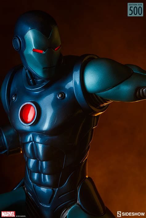 sideshow stealth iron man statue   order le