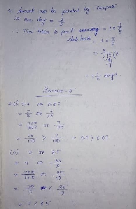 telangana scert class  math solution chapter  fractions