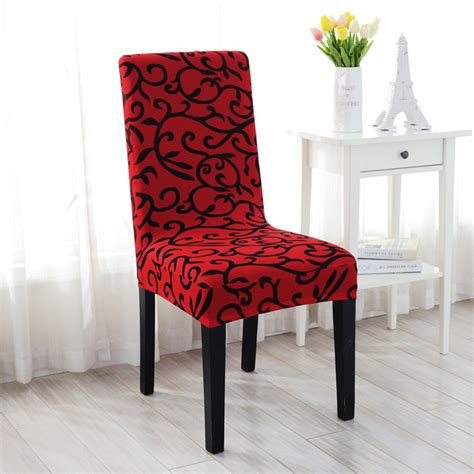 housse de chaise salle a manger housse de chaise salle manger court couvre elastique couverture f 234 te mariage ebay