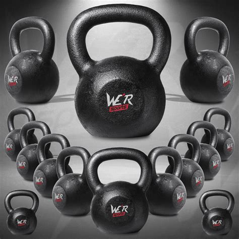kettlebell weight iron kettlebells cast strength 2kg fitness training 40kg