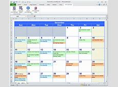 Excel Calendar Template calendar template excel