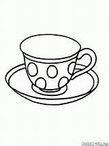 Coloring Cup Colorkid sketch template
