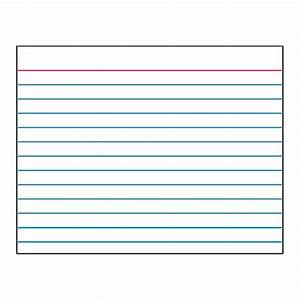 Index Card Template