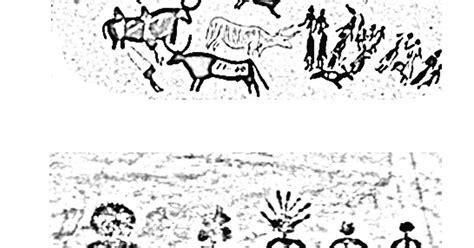 Lascaux Cave Art Coloring Pages Coloring Pages