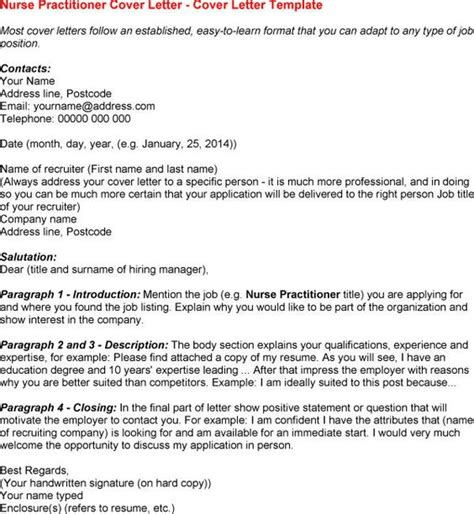 nurse practitioner cover letter riez sample resumes