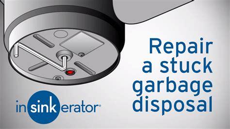 garbage disposal repair   fix  garbage disposal