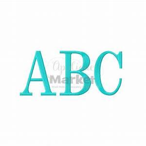 serif block jumbo alphabet With jumbo block letters