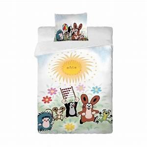 Bettwäsche Für Kinder : bettw sche f r kinder motiv der kleine maulwurf und sei ~ Orissabook.com Haus und Dekorationen