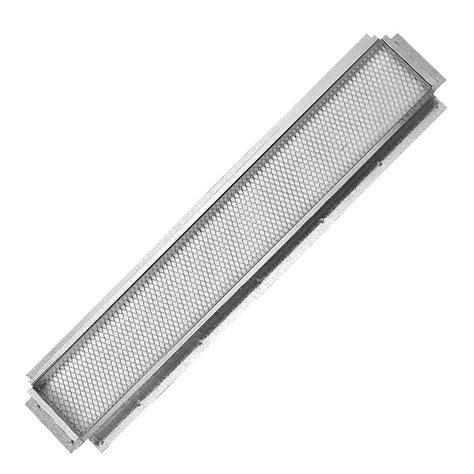 construction metals 22 in x 3 in steel soffit vent sv223