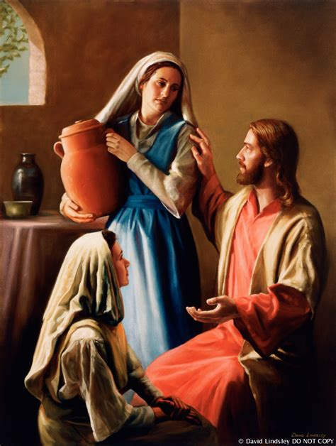Christ In The Home Of Mary And Martha (mary And Martha