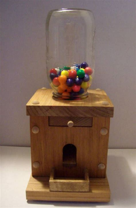 wooden candy dispenser plans google search crafts
