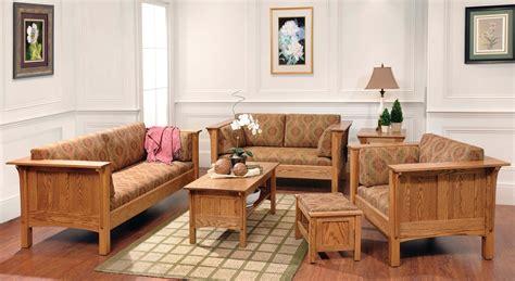 solid wood amish living room furniture