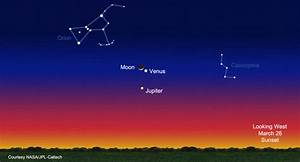 Jupiter In The Night Sky | www.pixshark.com - Images ...