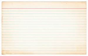 Image Gallery lined paper background