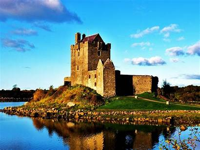 Ireland Castle Wall Wallpapers Scenery Natural Landscape