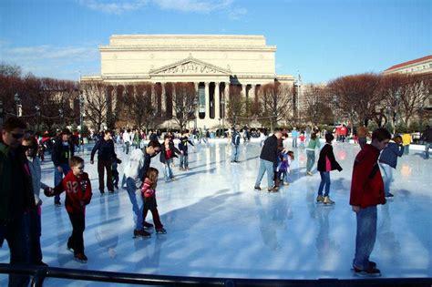 sculpture garden rink the national gallery of sculpture garden skating