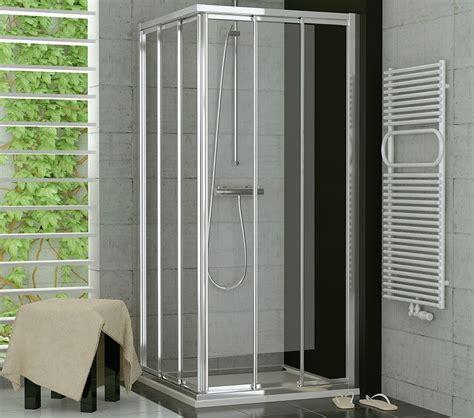 kantholz 80 x 80 duschabtrennung eckeinstieg 80 x 80 schiebet 252 r glas oder kunststoff
