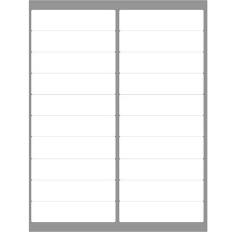 Avery 5261 Template by 4 Quot X 1 Quot 1 000 Address Labels Compatible To Avery 5161