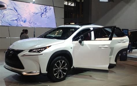 lexus new 2015 surprise ny auto show appearance new 2015 lexus nx crossover