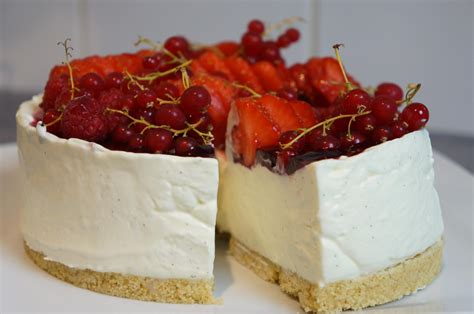 cheesecake hervé cuisine cheesecake sans cuisson vanille fruits rouges