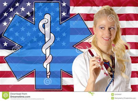 american health care stock illustration illustration