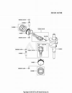 Kawasaki Fx850v Crankshaft