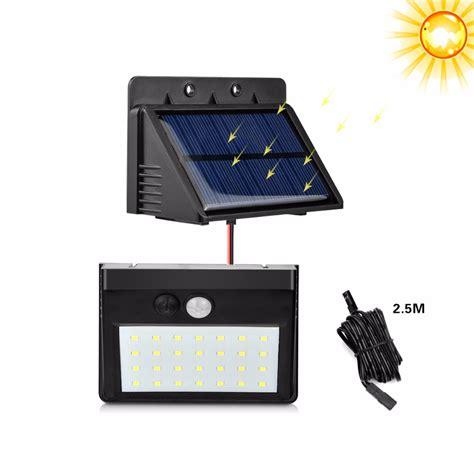 led solar pir motion sensor 3modes separable led solar light novelty