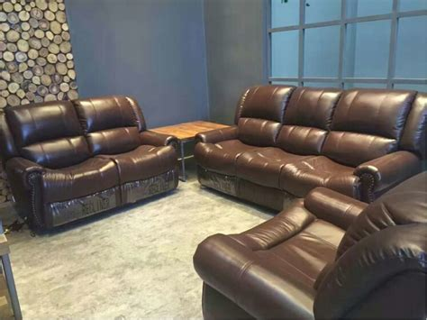 Cheap Leather Sofa Sets by Get Cheap Leather Recliner Sofa Set Aliexpress