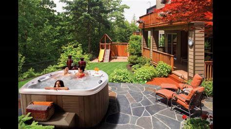 ground pool  hot tub deck ideas youtube