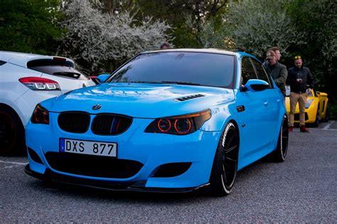 Bmw M5 Blue by Stunning Blue Bmw M5 V10