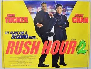 RUSH HOUR 2 (2002) Original Quad Movie Poster - Jackie ...