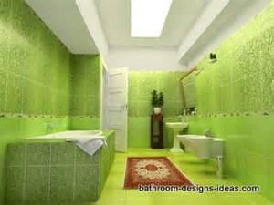 green tile bathroom ideas green bathroom design
