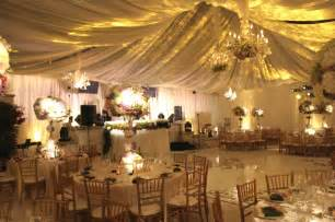 how to decorate for a wedding wedding swagging town country event rentals