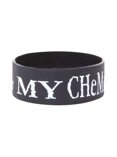 chemical romance rubber bracelet hot topic